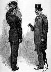 Sherlock Holmes - Makléřův úředník