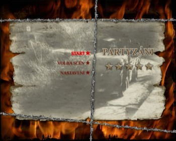 České menu DVD