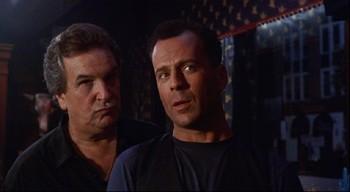 Danny Aiello + Bruce Willis
