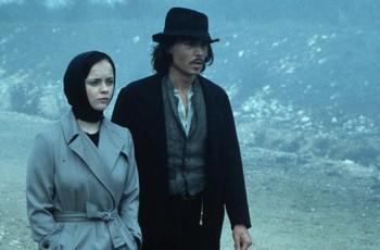 Christina Ricci a Johnny Depp