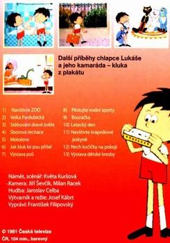 Zadní strana DVD
