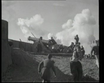 Turecká baterie na pobřeží