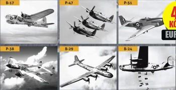 Popisovaná letadla