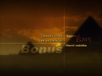 Bonusy na DVD