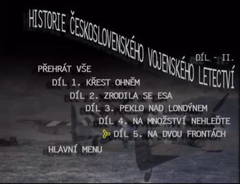 Seznam dílů na 1. DVD