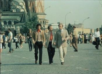 Jsme na Rudém náměstí, vážení hosté z Itálie