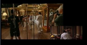 Film doplněný záběry z natáčení
