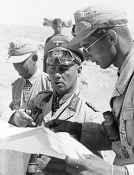 Polní maršál Erwin Rommel