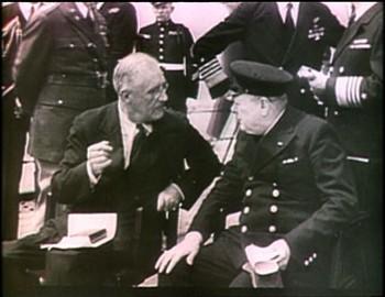 Roosevelt a Churchill