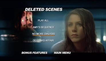 Přehled vymazaných scén