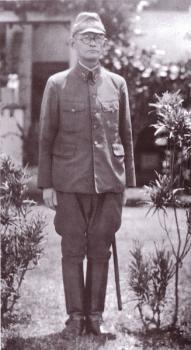 Japonský generálporučík Haryuoshi Hyakutake