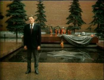 Hrob Neznámého vojínu k zdi Kremlu