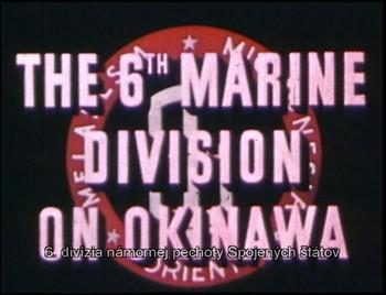 6. námořní divize na Okinawě
