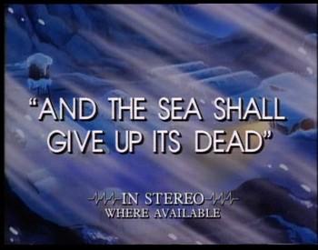 A moře vydalo své mrtvé