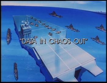 Data se ztratila v chaosu