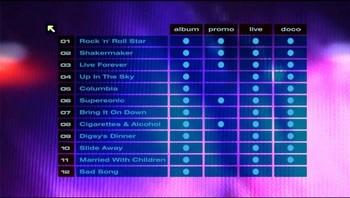 Zvláštně strukturované menu DVD