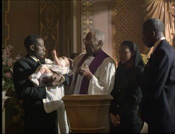 Křtiny spojené s pohřbem