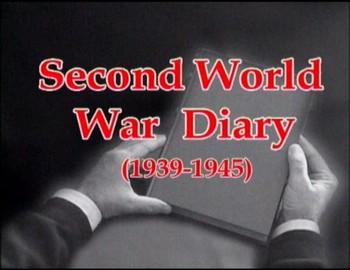 Deník 1939 - 1945 - Druhá světová válka