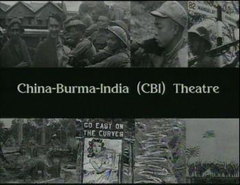 Bojiště Čína, Barma, Indie
