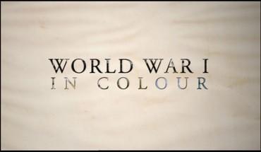 I. světová válka v barvě