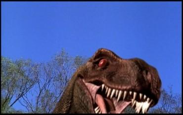 To má být hrůzostrašný T-Rex