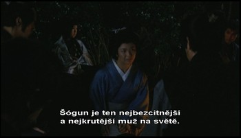 Rozuzlení - vrahem je zahradník, pardon, šógun