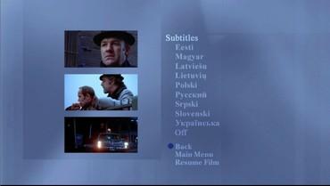 Nastavení - 2. obrazovka