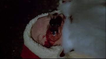 Santa vypoulený
