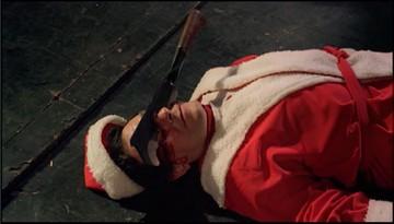 Santa zaseknutý