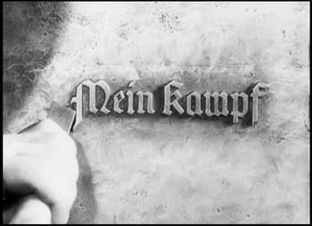 Výroba nezničitelných desek pro Mein Kampf