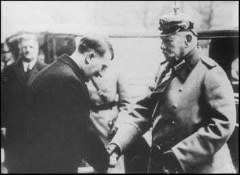 Hitler a Hindenburg