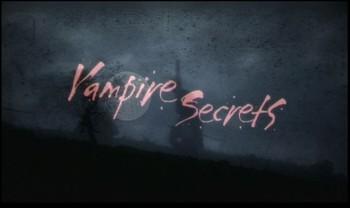 Tajemství upírů