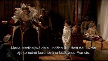 Příprava korunovace královy manželky