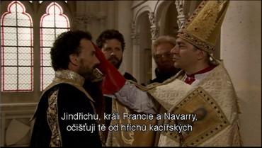 Přestup ke katolicismu k větší slávě Francie