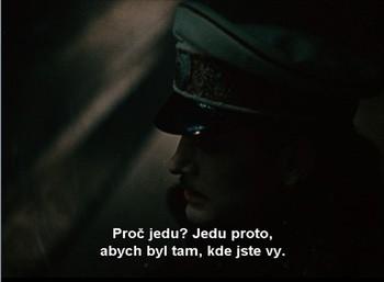 Vronský pronásleduje Annu do Petrohradu