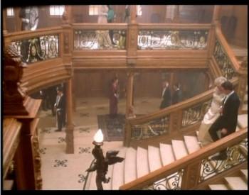 Hlavní schodiště ve filmu