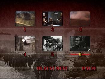 Výběr kapitol části Kurská bitva