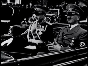 Hitler na státní návštěvě
