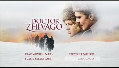 Menu 1. strany 1. DVD