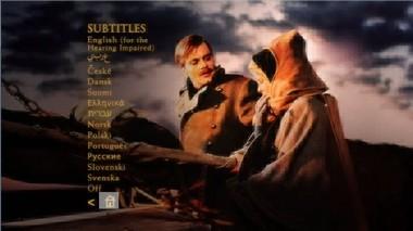 Titulky 2. strany 1. DVD