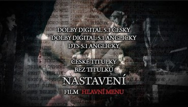 Nastavení zvuku a titulků na 1. DVD