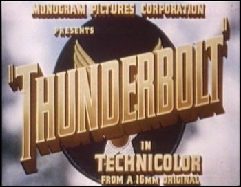 Bonusový film - Thunderbolt