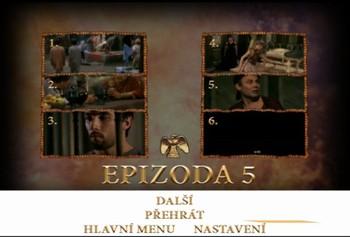 Kapitoly V. epizody