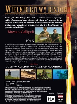 Zadní strana DVD polského vydání