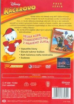 Zadní strana slovenského vydání