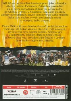 Zadní strana 2. DVD
