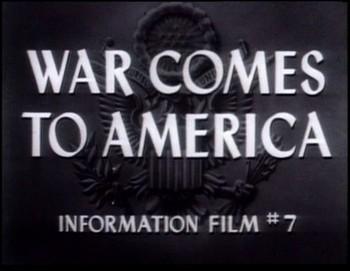 Válka přichází do Ameriky