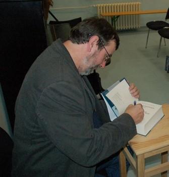 Z přednášky Vlastmila Vondrušky, autogramiáda - Městská knihovna Varnsdorf