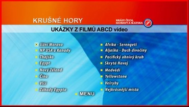 Ukázky z dalších DVD