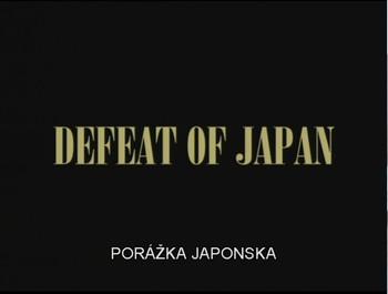 Porážka Japonska